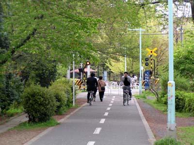 自転車道 多摩自転車道 地図 : 自転車道は東大和 多摩湖自転 ...